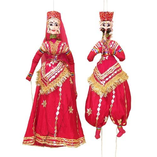 Indian Couple With Shroud