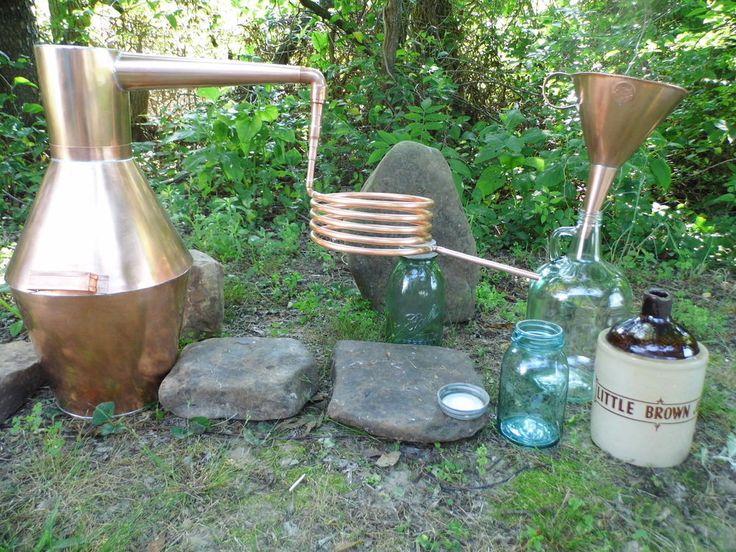 3 GALLON COPPER WHISKEY STILL / MOONSHINE STILL in Home & Garden, Food & Beverages, Beer & Wine Making | eBay
