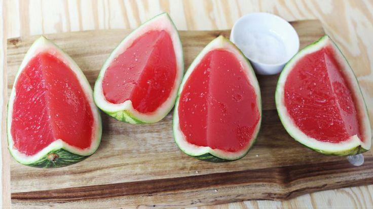 Watermelon jello shots!
