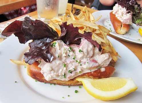 Famous Lobster Roll, Mary's Fish Camp NYC.