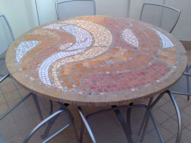 Affuann,, tavolo in unico esemplare. #mosaictabletop