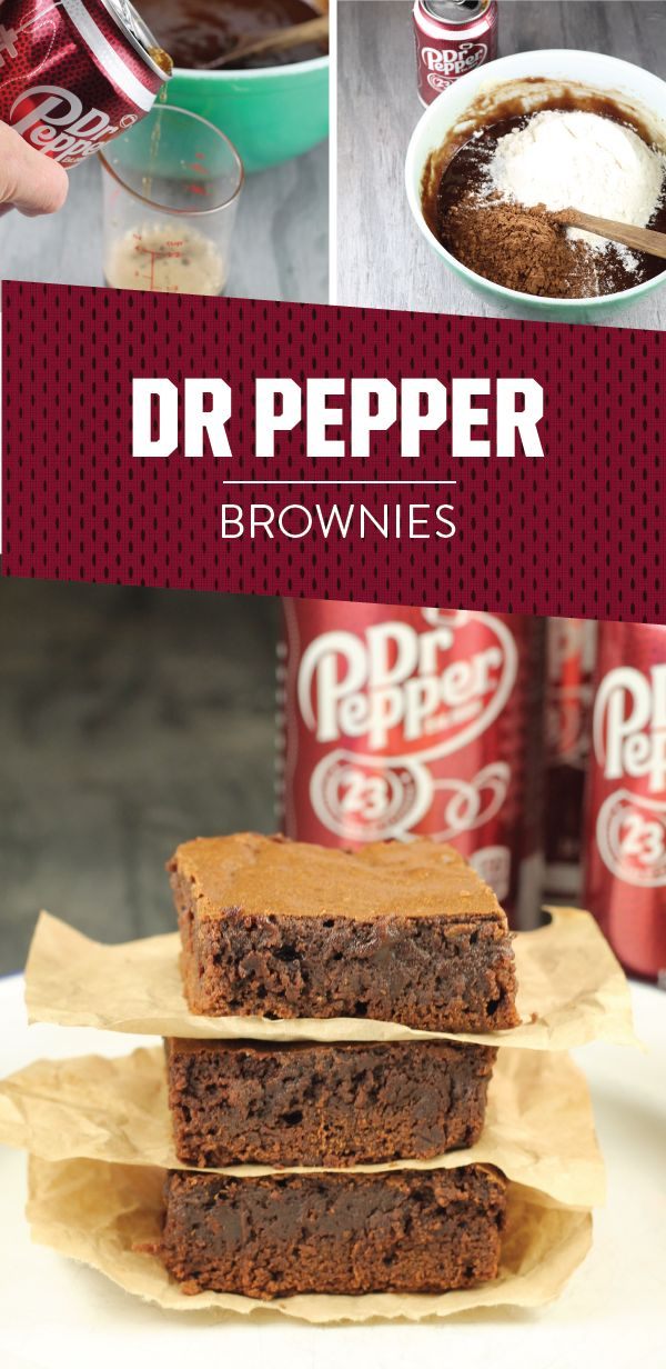 This recipe for Dr Pepper® Brownies and the Dr Pepper Dollar General rewards program have us thinking of delicious—and budget-friendly—ways to cheer on our favorite football team this fall. And in our opinion, there's no better way to do that than with sweet treats packed with flavor—thanks to Dr Pepper® baked right in! Check out this recipe to see how simple this game day dessert is to make as you stock up on party essentials from Dollar General for the season—without breaking the bank!