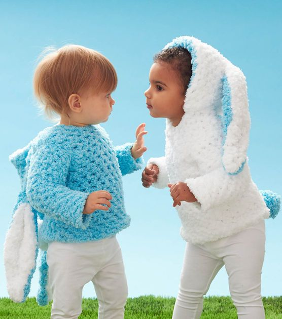 Hippity Hop Crochet Bunny Hoodie - Great for Easter Outfits!