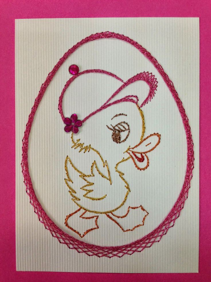 Best embroidery on paper easter images pinterest