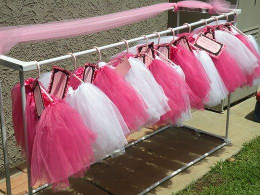 Princess Birthday Party / Catch My Party / Tutu party favors