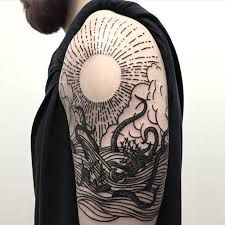 Image result for woodcut tattoo