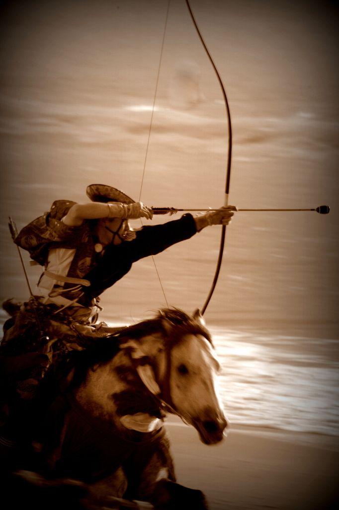 Yabusame: horse-back archery by mitaro on PHOTOHITO