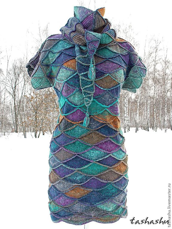 Pinner says: Tashashu! Amazing!!  Noro yarn.  This can be purchased from a knitter in Russia for $544