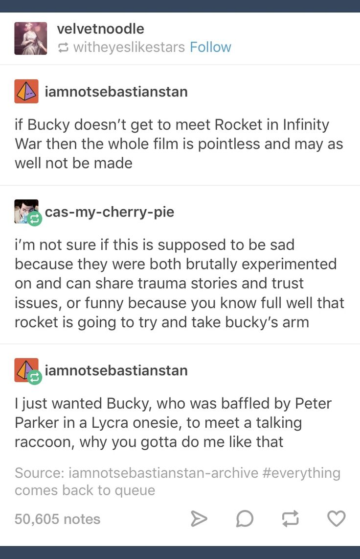 Bucky and Rocket