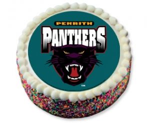 Cake Decorating Penrith : NRL Penrith Pathners edible cake topper - you just buy the ...