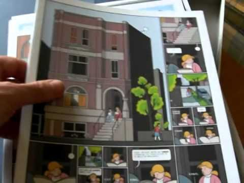 Chris Ware' Building Stories (unpacking) - YouTube