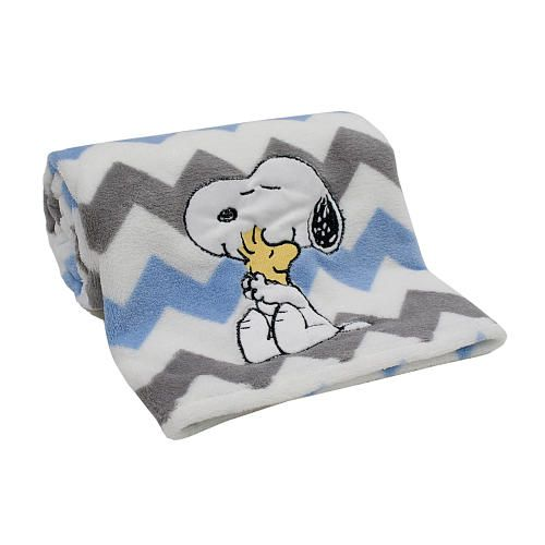 "Lambs & Ivy My Little Snoopy Blanket - Lambs & Ivy - Babies ""R"" Us"