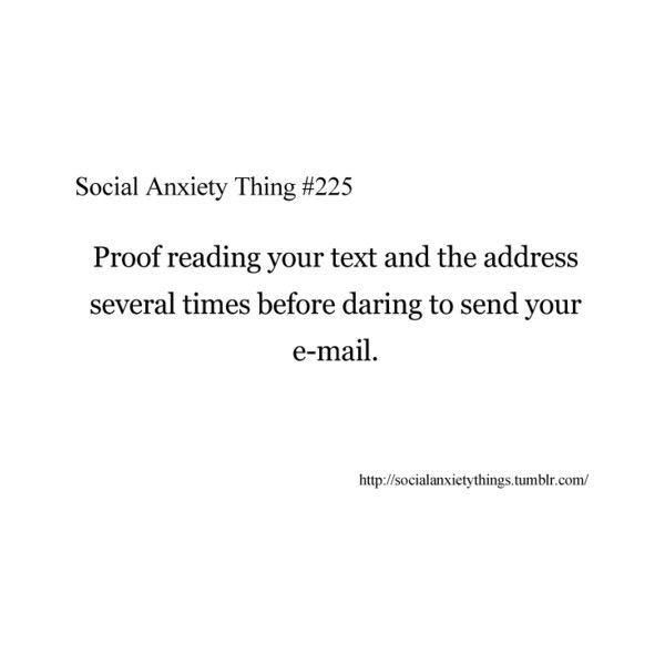 Social Anxiety Things                                                                                                                                                                                 More