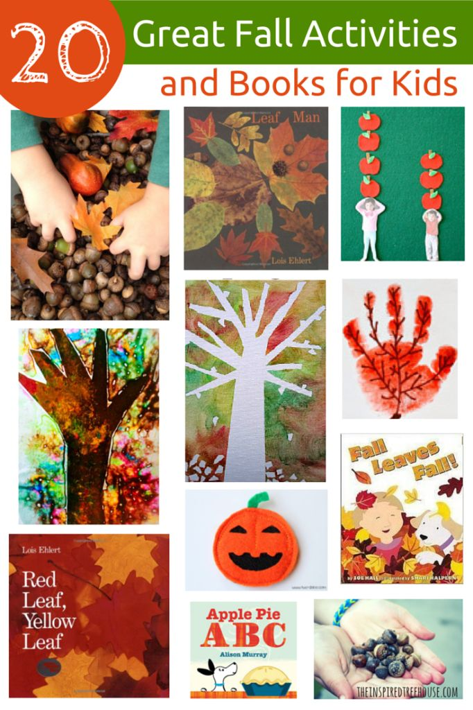 Fall projects for school age 20 images of fall sunday for Art and craft books for kids