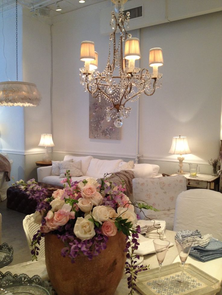Rachel ashwell beanbags see more beautiful setting shabby chic couture