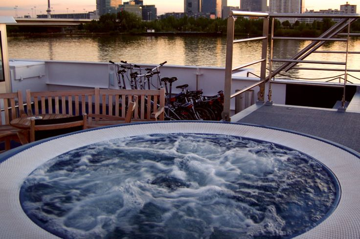 AmaWaterways - Whirl pool aboard AmaDagio