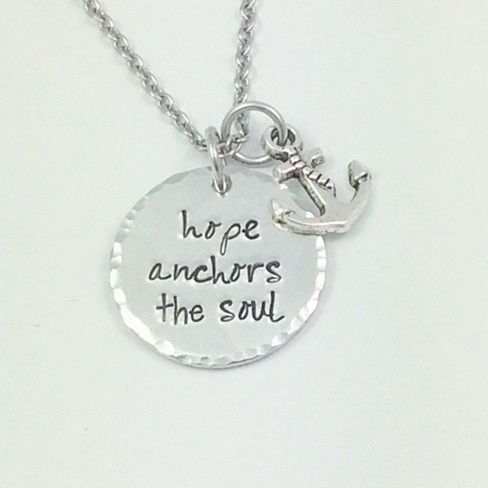 """""""We have this hope as an anchor for the soul, firm and secure."""" #hope"""