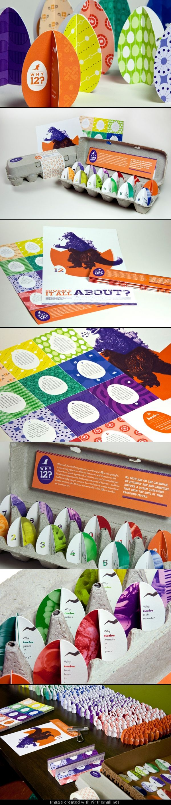 Color and intrigue serve up a one-two punch in Bark's 2012 self-promotion package