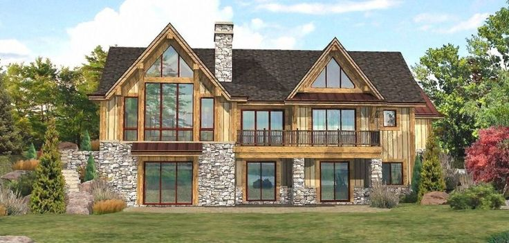 Lakefront Log Homes Cabins And Log Home Floor Plans