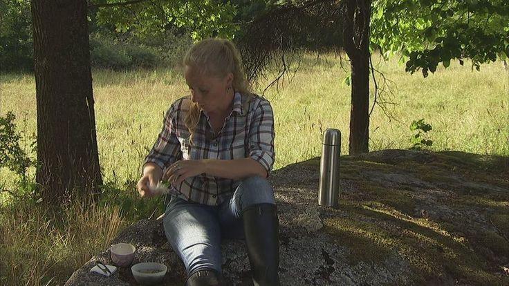 Alexandra De Paoli berättar om olika örter och blommors användningsområden. Detta avsnitt: Rölleka.