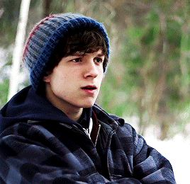 Edge of winter, tom holland. I cried a lot watching this movie cause my bby didn't deserve a single second of that still a great movie tho