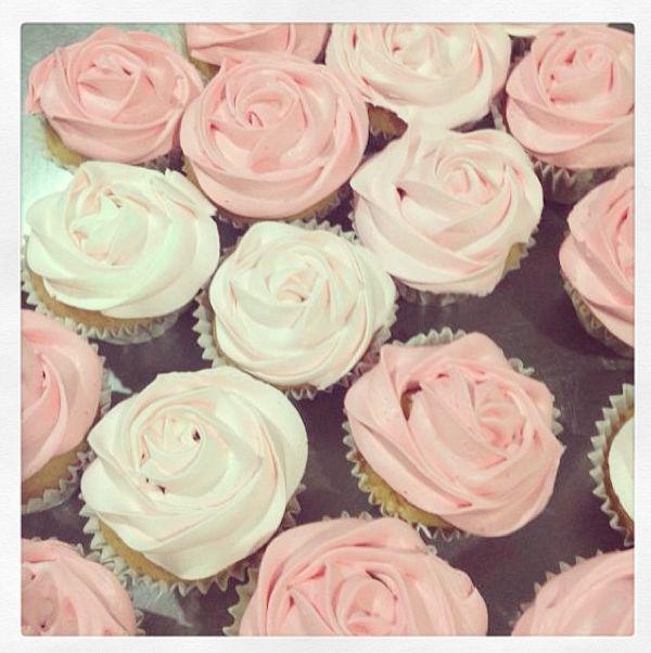#Cupcakes de #rosa ♥ #rose