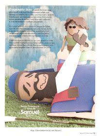 Olá Pessoal! A edição de Março da revista do Professor Sassá está maravilhosa, só com temas bíblicos! Encontrei as imagens abaixo no Forum d...