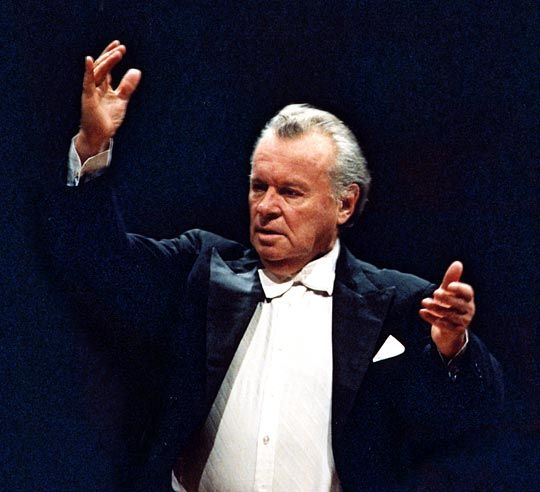 Yevgeny Fyodorovich Svetlanov (6 September 1928—3 May 2002), Russian conductor and  composer