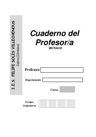 Cuaderno del profesor                                                                                                                                                                                 Más