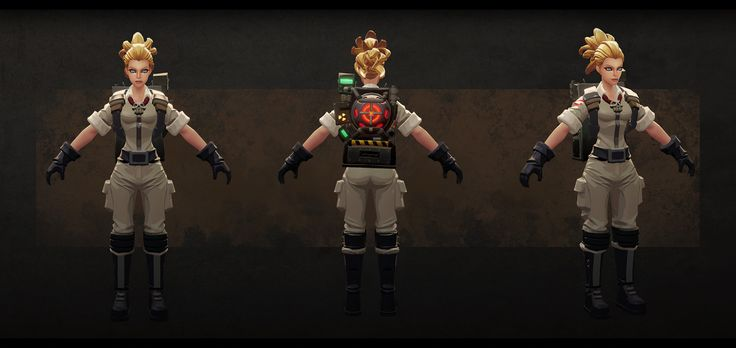 ArtStation - Ghostbusters game models, Kevin Lee