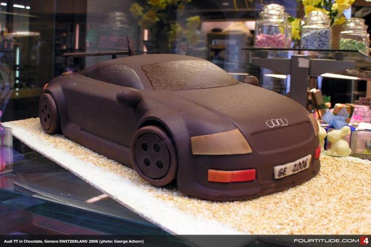 Audi cake!!!!!!!!! :)