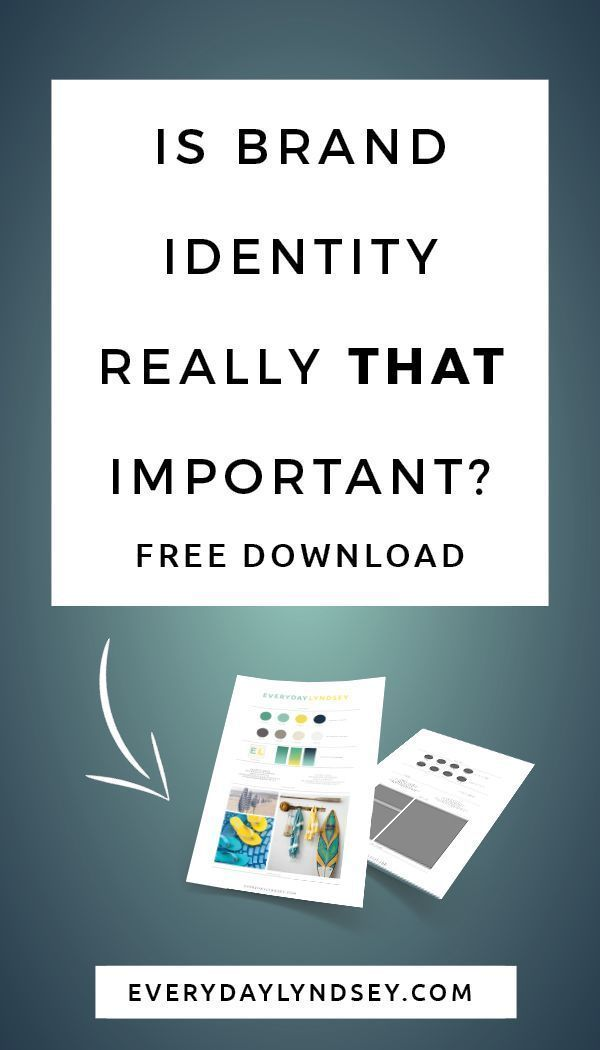 Is Brand Identity Really That Important With Images Blog Branding