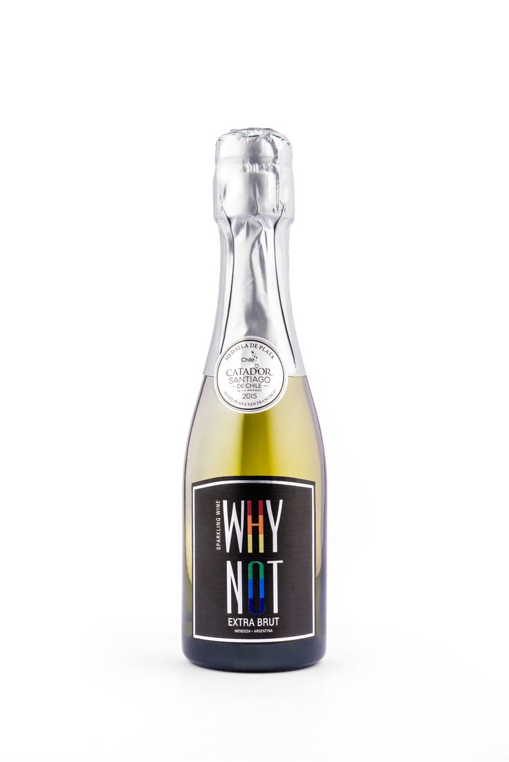 Extra Brut Why Not Sparkling - #whynotsparkling #whynotblack #sparklingwine #champagne #moda #diseño