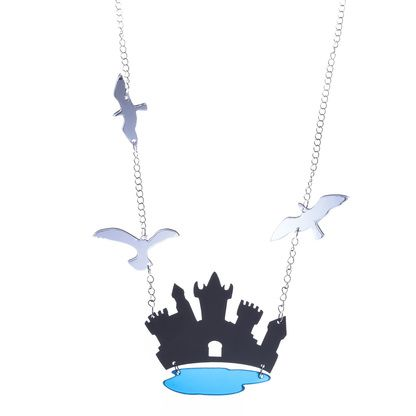 KiviMeri ~Torni Magic castle long necklace. | KiviMeri.com #castle