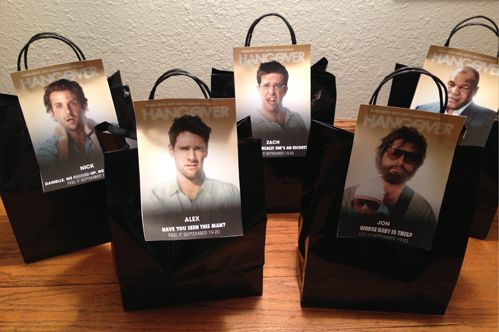 DIY bachelor party hangover kits - inspired by The #Hangover