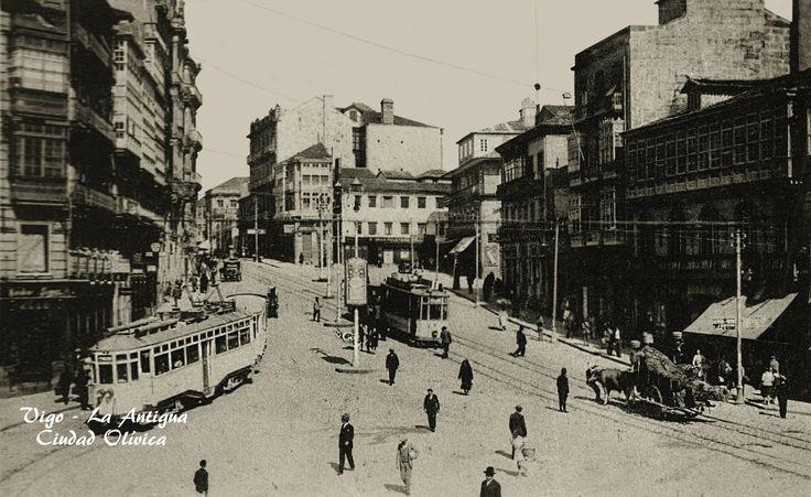 387 best images about vigo fotos antiguas on pinterest for Puerta del sol santiago