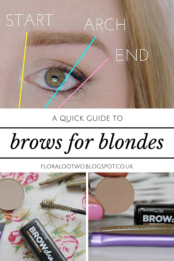 FOR MY MUM Affordable products for blonde eyebrows & a quick how to guide.