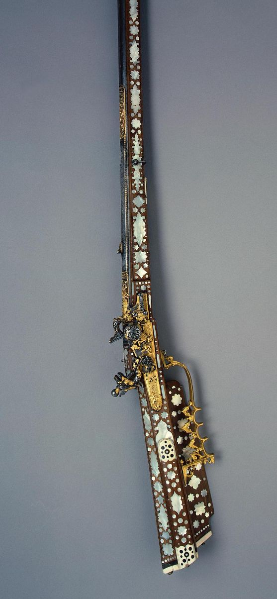 Hunting Flint-lock Gun, Place of creation: Russia Manufacture, workshop, firm: Moscow Armoury Workshop Date: 1670-1680 School: Moscow.