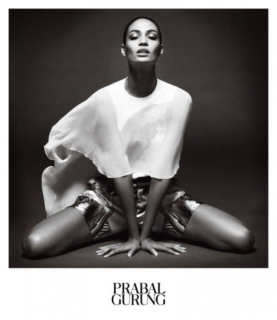 JOAN SMALLS Prabel Gurung AD PICTURES PHOTOS and IMAGES