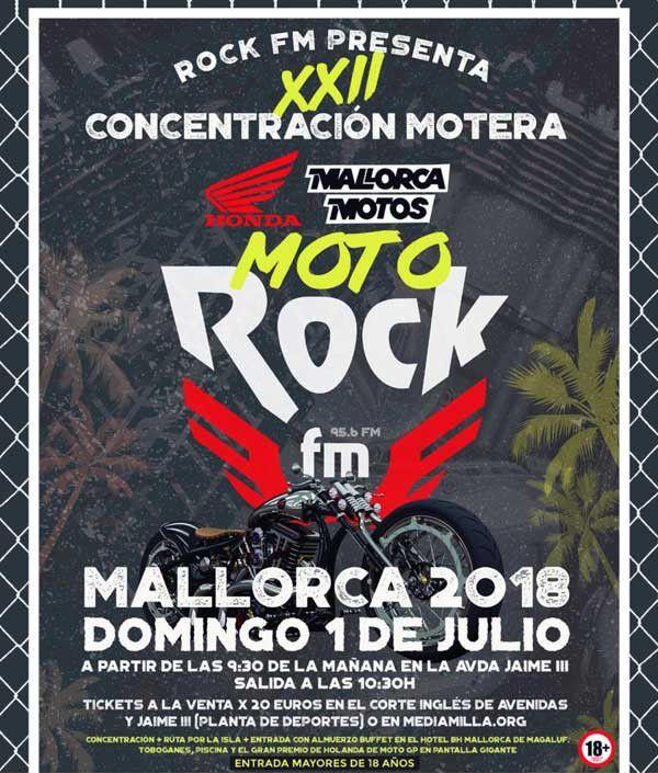 Xxii Concentración Motera Moto Rock Fm En Palma De Mallorca Palma De Mallorca Concentracion Mallorca