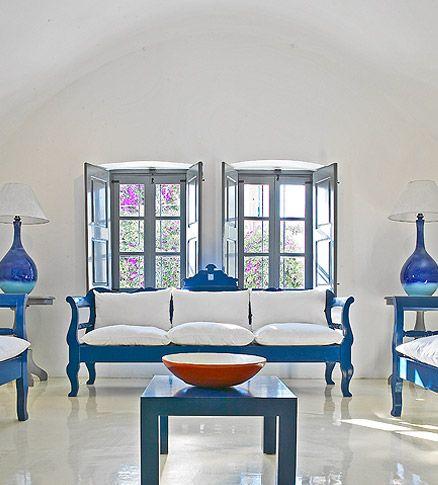 Wanting More Greek Interior Design