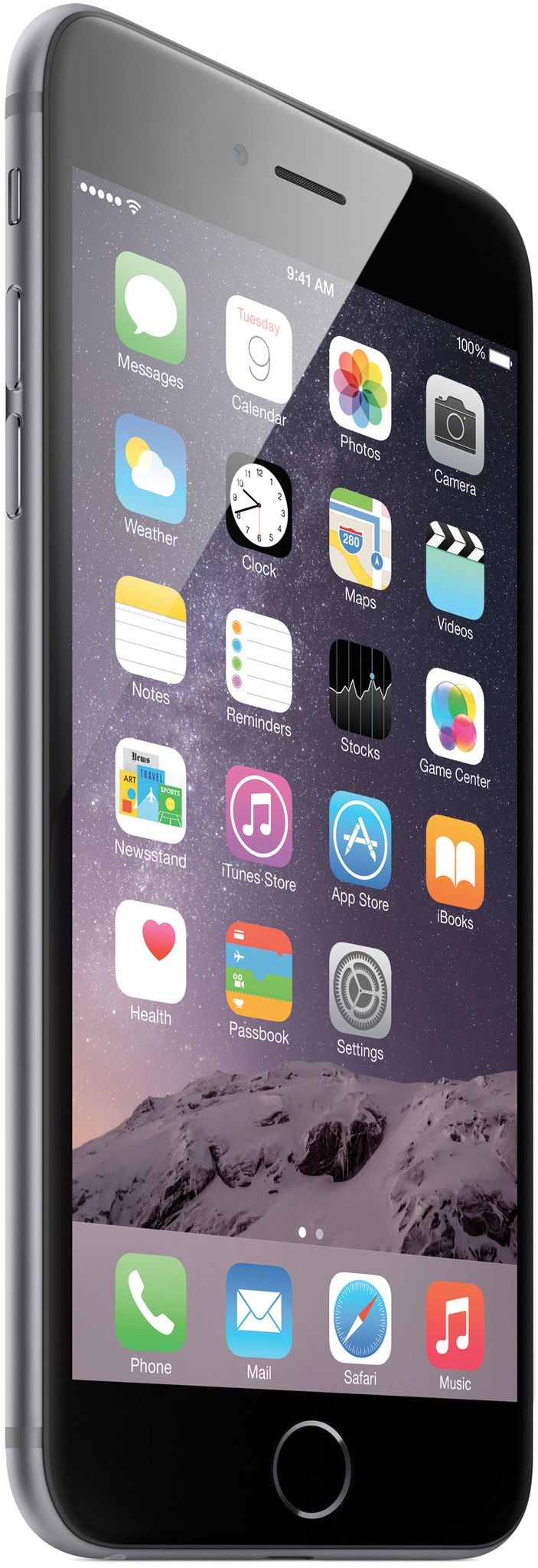 Apple iPhone 6 Plus, Space Gray. I'll have mine by mid October.