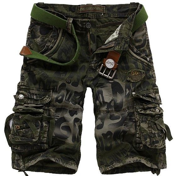 2013 Free Shipping Trousers men's casual shorts 2013 summer new overalls pants men's Cargo Shorts Camouflage pants $9.23 - 27.13