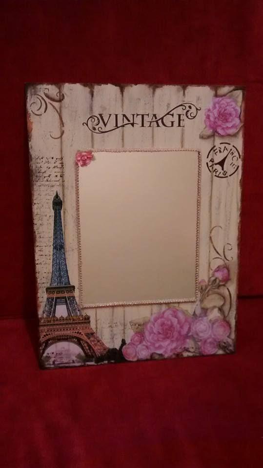 1000 ideas sobre espejos decorados en pinterest for Espejos con marcos decorados