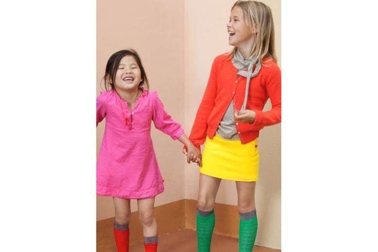 Rokje maken voor Sophie. Jersey stof knal geel ( groene sokken zoeken) Welke schoenen???