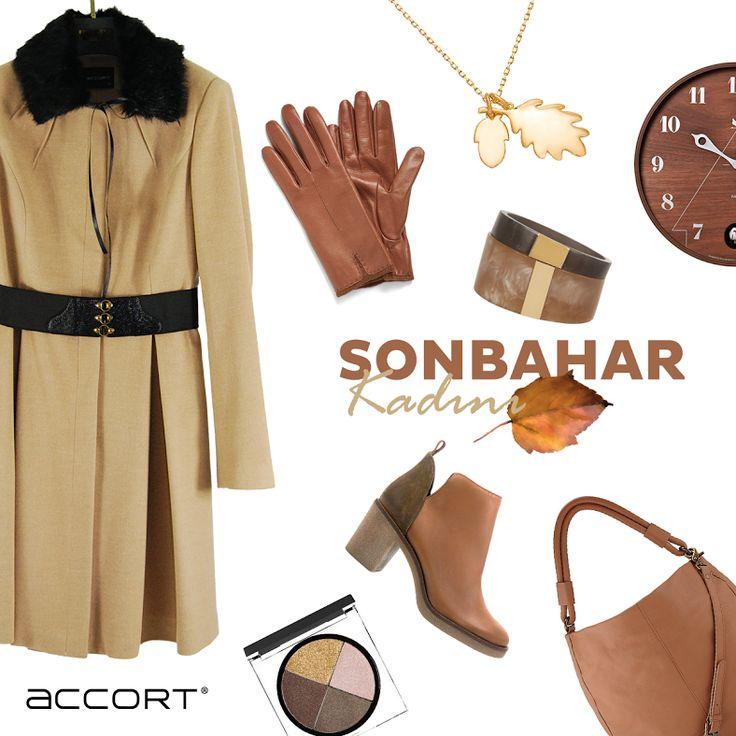 Accort'la Sonbaharın  En Şık Kadını Sen Ol #trend #moda #sonbahar #aksesauar #fashion #renkler #sarı
