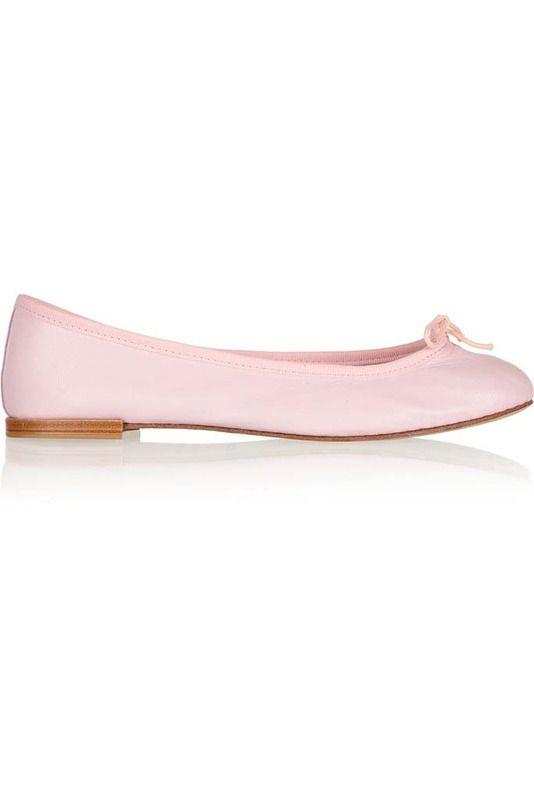 Bailarinas en rosa pastel de Repetto,