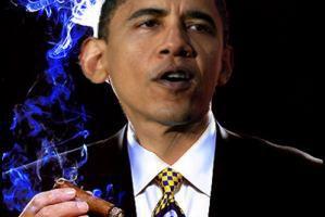 Celebrity Smoker ~ President Barack Obama