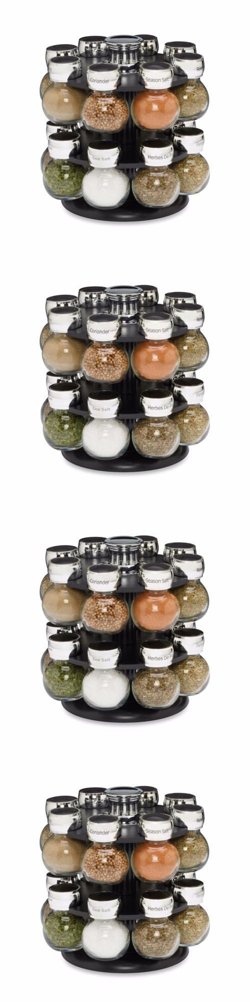 Spice Jars and Racks 20646: Counter Top 16 Jar Ellington Rotating Spice Rack Five Years Free Spice Refills -> BUY IT NOW ONLY: $42.99 on eBay!