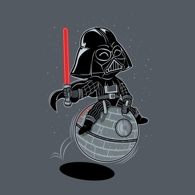 Darth Vader Space Hopper T Shirt